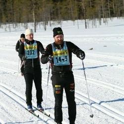 Skiing 90 km - Christoffer Bertilsson (14432)
