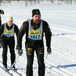 Skiing 90 km - Christoffer Bertilsson (14432)