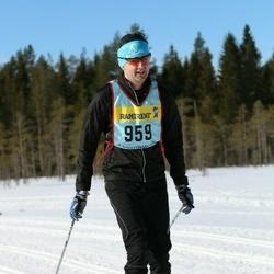 Skiing 90 km - Daniel Andrén (9592)