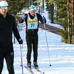 Skiing 90 km - Carl Johan Måwe (777)
