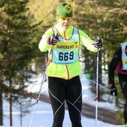 Skiing 90 km - Anna Hammarström (6697)