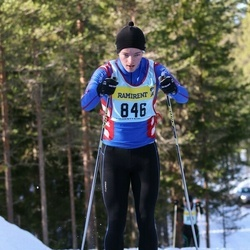 Skiing 90 km - Daniel Vikström (8467)