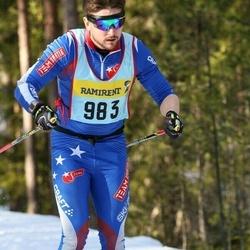 Skiing 90 km - Daniel Malmhäll (9837)