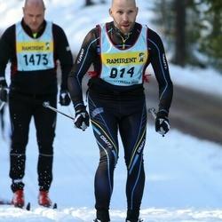 Skiing 90 km - Fredrik Brandt (8147)