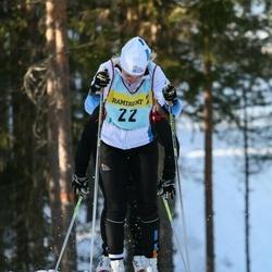 Skiing 90 km - Ida Christensen (227)