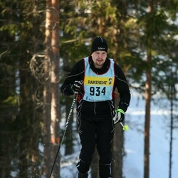 Skiing 90 km - Anders Fherm (9347)