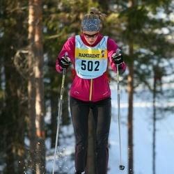 Skiing 90 km - Lowisa Nyman (5027)