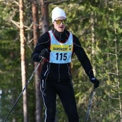 Skiing 90 km - Samuel Wärnelöv (1157)
