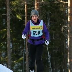 Skiing 90 km - Alin Johansson (6907)