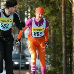 Skiing 90 km - Johan Chefen Mattsson (9687)