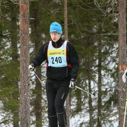 Skiing 90 km - André Karlsson (2407)