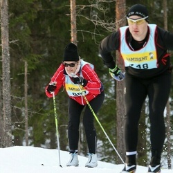 Skiing 90 km - Catherine Wehtje (9077)