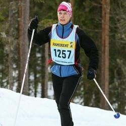 Skiing 90 km - Agneta Lindskog (12577)