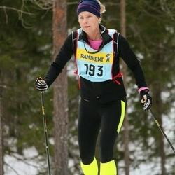 Skiing 90 km - Jenny Palmqvist (1937)