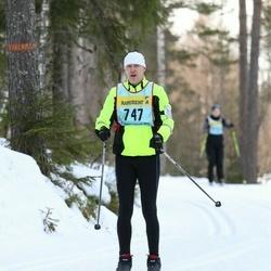 Skiing 90 km - Thomas Stålkrantz (7477)