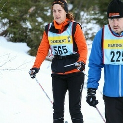 Skiing 90 km - Jeanette Anagrius (5657)
