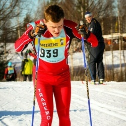 Skiing 90 km - Fredrik Finnskog (9396)