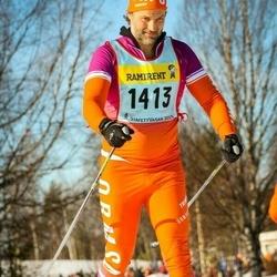 Skiing 90 km - Fredrik Prans (14136)