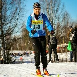 Skiing 90 km - Malin Blomstrand (3606)