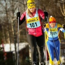 Skiing 90 km - Kristina Elmström (1016)