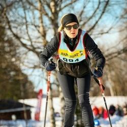 Skiing 90 km - Linda Bratteby Tollerz (9946)