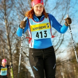 Skiing 90 km - Ebba Ramel (4136)