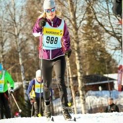 Skiing 90 km - Anneli Woxlin (9886)
