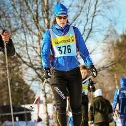 Skiing 90 km - Louise Lundström (3766)
