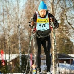 Skiing 90 km - David Rósenkrans Hauksson (4756)