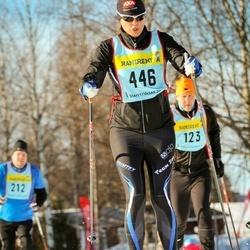 Skiing 90 km - Jenny Nyström (4466)