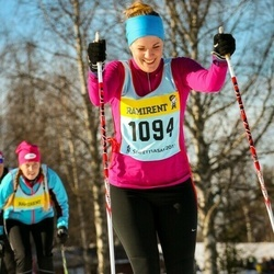 Skiing 90 km - Ebba Winqvist (10946)