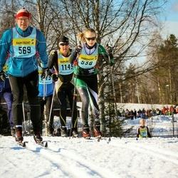 Skiing 90 km - Elsa Klingberg (5386)