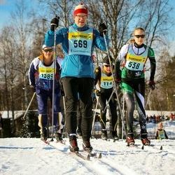 Skiing 90 km - Elsa Klingberg (5386), Johan Dellbeck (5696)