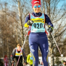 Skiing 90 km - Agneta Fjätström (9206)