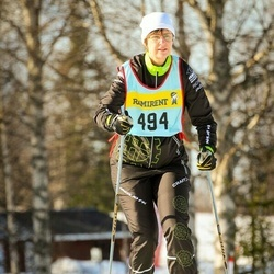 Skiing 90 km - Åsa Nedstedt (4946)