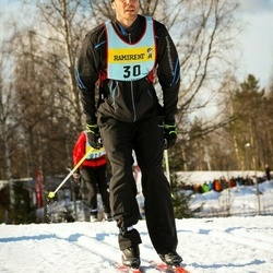 Skiing 90 km - Christoffer Berg (306)