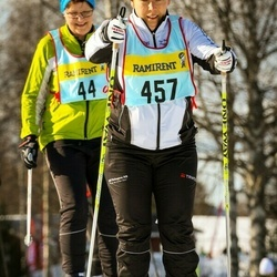 Skiing 90 km - Jenny Haddleton (4576)