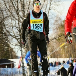 Skiing 90 km - Björn Fredriksson (13626)