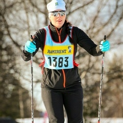 Skiing 90 km - Cecilia Andersson (13836)
