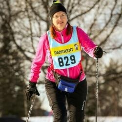 Skiing 90 km - Eva Liss (8296)