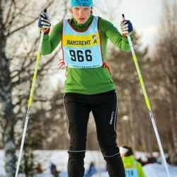 Skiing 90 km - Grit Nestler (9666)