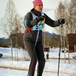 Skiing 90 km - Kerstin Gustafsson (5316)