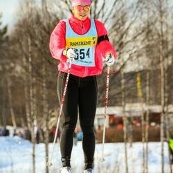 Skiing 90 km - Jenny Gustafsson (5546)