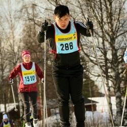Skiing 90 km - Alexander Wang (2886)