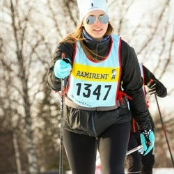 Skiing 90 km - Malin Ekström (13476)