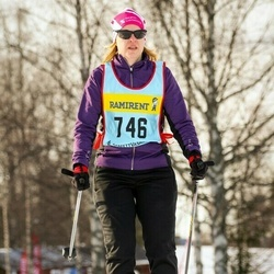 Skiing 90 km - Anna Eriksson (7466)