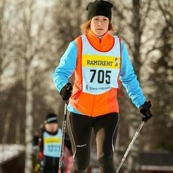 Skiing 90 km - Jenny Pettersson (7056)
