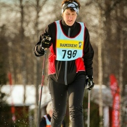 Skiing 90 km - Elisabet Falemo (7986)