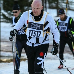 Skiing 90 km - Niclas Wallin (11317)
