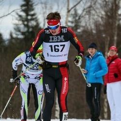 Skiing 90 km - Ari Iusuaa (167)